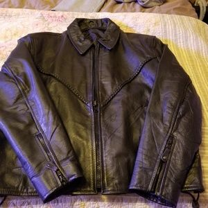 Other - Women leather motorcycle jacket